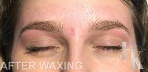 Eyebrow Waxing (after)